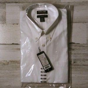Kirklan Signature NWT men's dress shirt
